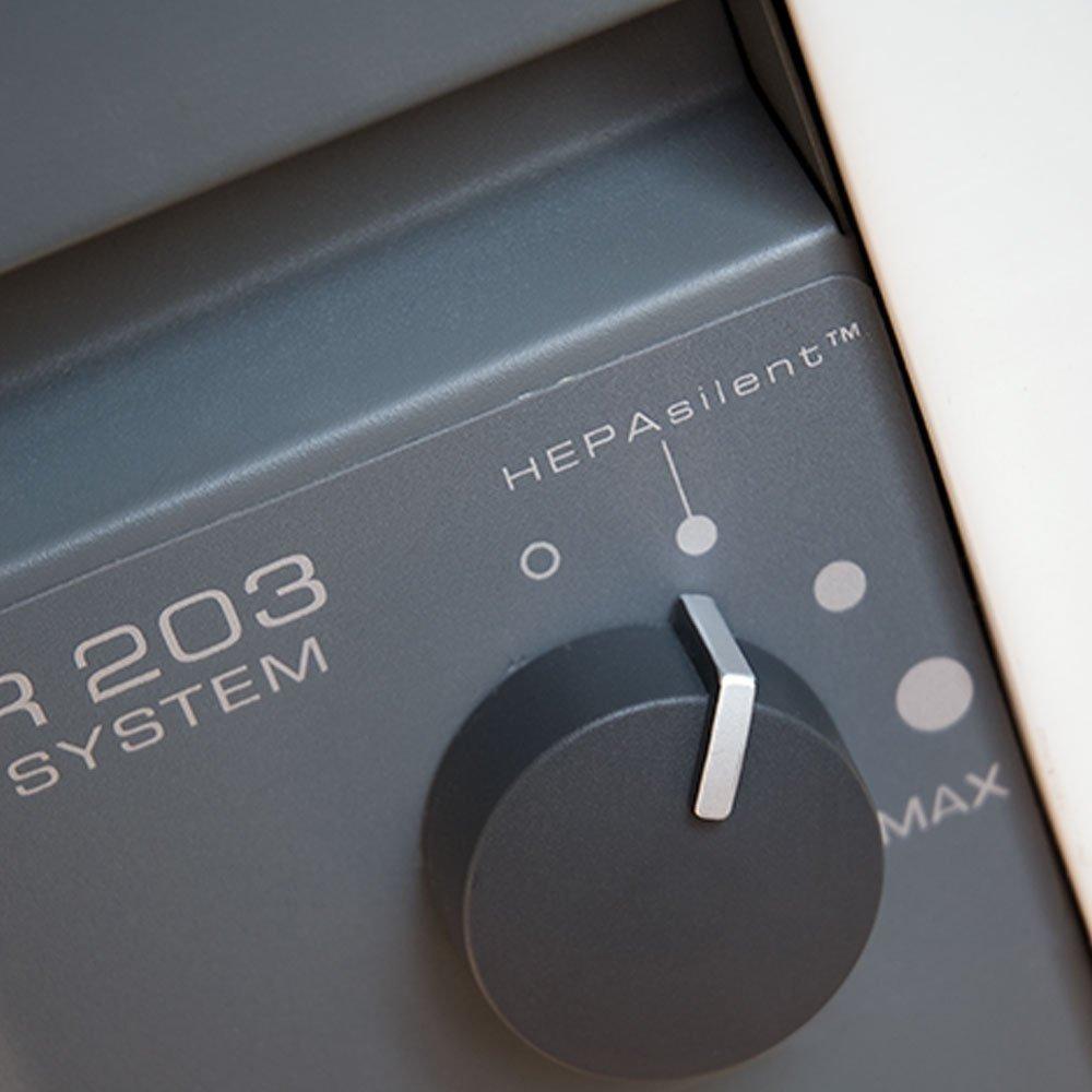 Blueair Classic 203 controls